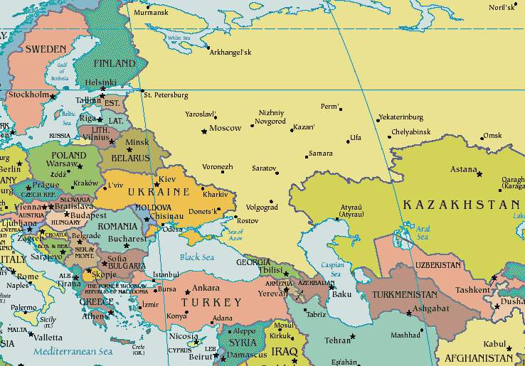 eastern-europe-map The Teeming Brain