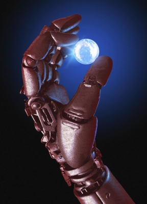 Robot_Hand_and_Earth_Globe
